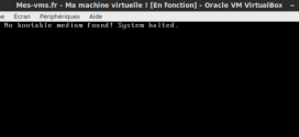 VirtualBox – No bootable medium found system halted