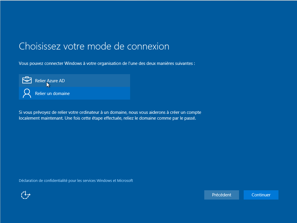 Machine virtuelle - Windows 10 Professionnel RTM - 64 Bits